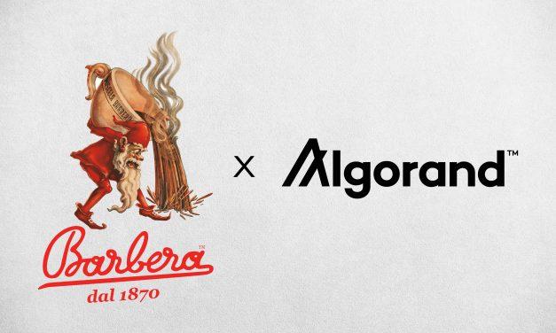 Caffè Barbera annuncia partnership con Algorand
